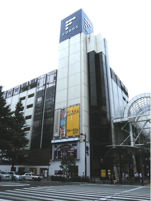 仙台 仙台フォーラス 地図